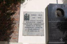 the gravestone of my grandfather in Powazki Cemetary-Aleja Zasluzonych