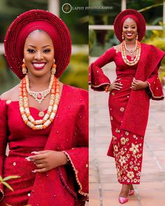 New traditional african fashion ! African Lace Styles, African Lace Dresses, African Fashion Dresses, African Clothes, African Style, African Beauty, Nigerian Wedding Dresses Traditional, Traditional Wedding Attire, Nigerian Outfits