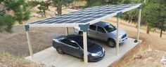 carport and solar panel ideas - Google Search