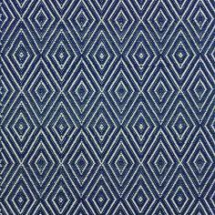 Dash & Albert - Diamond Teppich - Marineblau/Elfenbein - 91x152cm Jetzt bestellen unter: http://www.woonio.de/produkt/dash-albert-diamond-teppich-marineblauelfenbein-91x152cm/