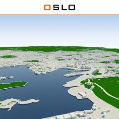 Max Oslo Cityscape - 3D Model