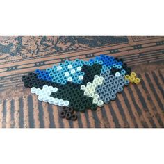 Bird hama beads by pearlitout