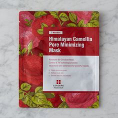 Made in South Korea, this antioxidant-rich mask restores skin, reducing fine lines and the appearance of pores. Considered a miracle oil in East Asia,
