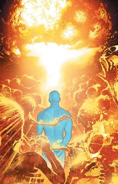 Dr. Manhattan by Adam Hughes