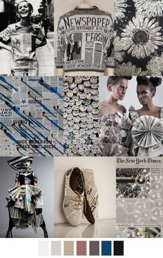 Fashion vignette color palette trends in fashion. For more followwww.pinterest.com/ninayayand stay positively #inspired