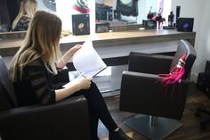 New Team Member interviewed today at our Birstall Salon by Paige  She needs a salon name? what should we call her?