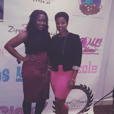 With @lord_of_the_neshias at the 30 under 30 luncheon hosted by the beautiful @ramaiseya_ . Thank you so much love!!