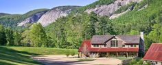 Canyon Kitchen - the 5 star restaurant in Cashiers, NC where Andrew works. Stunning setting.... amazing food.