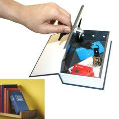 Livre Coffre-Fort, Cadeau Déco Ingénieux sur Logeekdesign.com