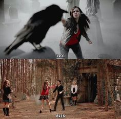 First episode to the last episode of Delena's relationship