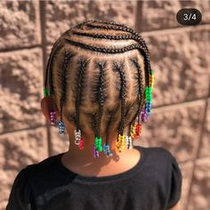 African Baby Hairstyles, Black Baby Girl Hairstyles, Little Girls Natural Hairstyles, Cute Toddler Hairstyles, Kids Braided Hairstyles, Girl Short Hair, Little Girl Braids, Braids For Kids, Beautiful Black Hair
