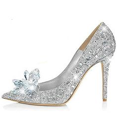 Wedding+Shoes+-+Saltos+-+Saltos+/+Bico+Fino+-+Prateado+-+Feminino+-+Casamento+/+Social+/+Festas+&+Noite+–+BRL+R$+228,56