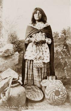 1908 Apache woman