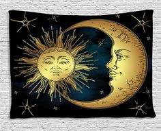 Psychedelic Tapestry by Ambesonne, Sacred Moon and Sun in... https://smile.amazon.com/dp/B06WRVSV4R/ref=cm_sw_r_pi_dp_x_d7Yjzb89WXAWC
