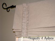 Beauty 4 Ashes: Faux Roman Shades