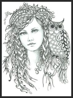 Beautiful Zentangle ARTIST NORMA J BURNELL