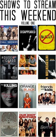 Good shows, movies and documentaries to watch instantly on Netflix or Amazon Instant. #movies #greatmovies get unlimited legal downloads of your movies click http://yourworkingdiet.com/movies