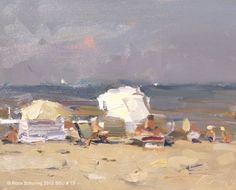 Roos Schuring New paintings- Seascapes and landscapes plein air#