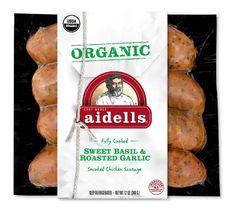 Organic Sweet Basil & Roasted Garlic