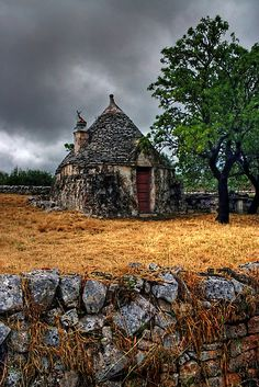 Trulli house in Italy