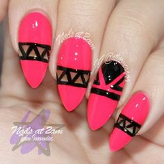 No to the claw shaped nails, but absolutely to the color and design.