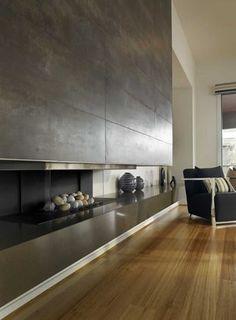 *living room design, modern interiors, fireplace* - Aspire2
