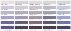 Color Harmony Chart | ... Color - Chart, Chip, Sample, Swatch, Palette, Color Charts - Exterior