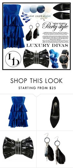 """Luxury Divas"" by amra-sarajlic ❤ liked on Polyvore featuring OPI, MANGO, Kate Spade and LUXURYDIVAS"