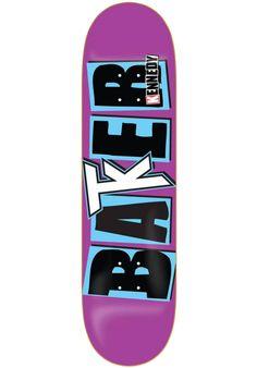 Baker Kennedy-Icon, Deck, purple Titus Titus Skateshop #Deck #Skateboard #titus #titusskateshop