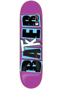 Baker Kennedy-Icon, Deck, purple Titus Titus Skateshop #Deck #Skateboard #titus #titusskateshop