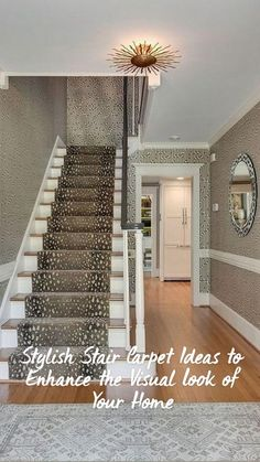 Staircase Wall Decor, Staircase Runner, Stair Runners, House Staircase, Staircase Ideas, Living Room Small, Living Rooms, Living Spaces, Foyer Decorating
