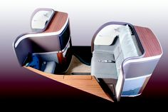 First Class : Cathay Pacific - so futuristic