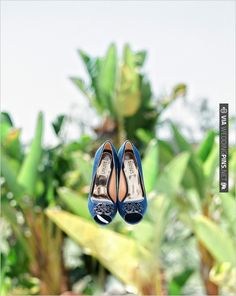 Blue Badgley Mishka shoes | CHECK OUT MORE IDEAS AT WEDDINGPINS.NET | #weddingshoes