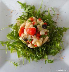 Le blog de Clementine: Empedrat - Salade de haricots blancs avec morue