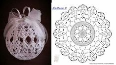 Ludmila Vodičková's 870 media content and analytics - Her Crochet Christmas Crochet Patterns, Crochet Christmas Ornaments, Holiday Crochet, Crochet Snowflakes, Christmas Baubles, Christmas Decorations, Art Au Crochet, Crochet Ball, Crochet Motifs