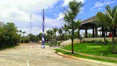 Lối vào khu vực Clubhouse dự án đất nền biệt thự Arista Villas ven sông Vĩnh Bình, Quận Thủ Đức.   http://www.canhobietthu.com/du-an/du-an-dat-nen/50-dat-nen-biet-thu-arista-villas-thu-duc