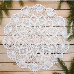 . Lace Doilies, Crochet Doilies, Crochet Lace, Filet Crochet, Hobby Farms, Elsa, Pattern Design, Placemat, Instagram Posts