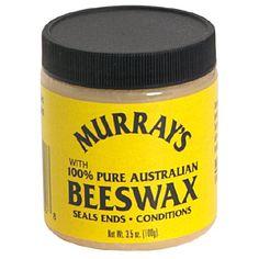 Murrays Beeswax 3.5 oz. Jar