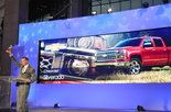 The Chevrolet Corvette Stingray was named car of the year and the Chevrolet Silverado took home the top prize for truck/utility vehicle in the 2014 North American Car and Truck/Utility of the Year (NACTOY) at the 2014 North American International Auto Show (NAIAS) in Detroit on Monday.