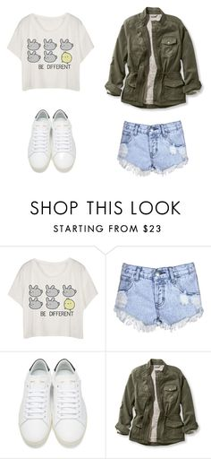 """""""untitled #123"""" by llondonslove on Polyvore featuring moda, Glamorous, Yves Saint Laurent i L.L.Bean"""