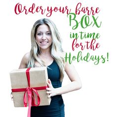 Get your barreBOX? before it sells out!