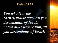 psalms 22 23 you who fear the lord powerpoint church sermon Slide03  http://www.slideteam.net/