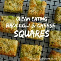 broccoli and cheese squares