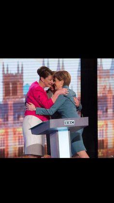 Girl power @TheGreenParty @Plaid_Cymru @theSNP #BBCDebate