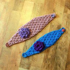 Instant Download  Crochet Pattern  Elisabeth Headwrap door Mamachee, $5.50