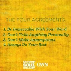 what are the 4 agreements