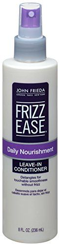 John Frieda Frizz Ease Daily Nourishment LeaveIn Conditioning Spray by John Frieda for Unisex Hair Spray 8 Ounce *** Continue to the product at the image link.