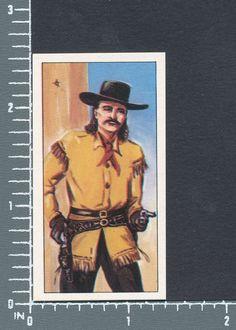 Wild Bill Hickok - Wagon Wheels Wild West Action cigarette type card #14