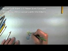 How to Draw Marbles with Colored Pencils - Tutorial Excerpts - YouTube