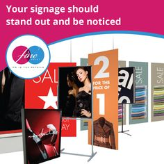 Your signage should stand out and be noticed.  Be seen in the best possible light with our selection of back and front lit quality signs.   #FinePrint #signs #caymanislands